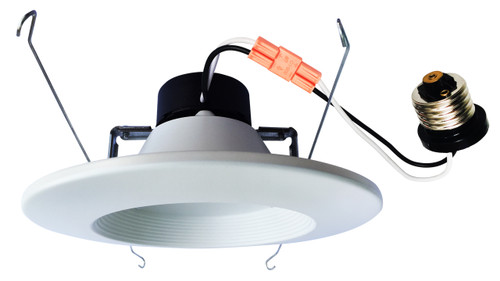 5/6 in. Retrofit LED Dimmable Downlight Baffle Trim