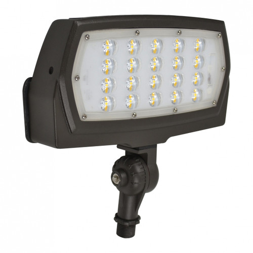 LED Slim Line Flood Light with Knuckle Mount