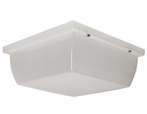 LED Garage Wall light 23 watt 1900 lumens, 120 volt, Frosted Prismatic Acrylic lens UL