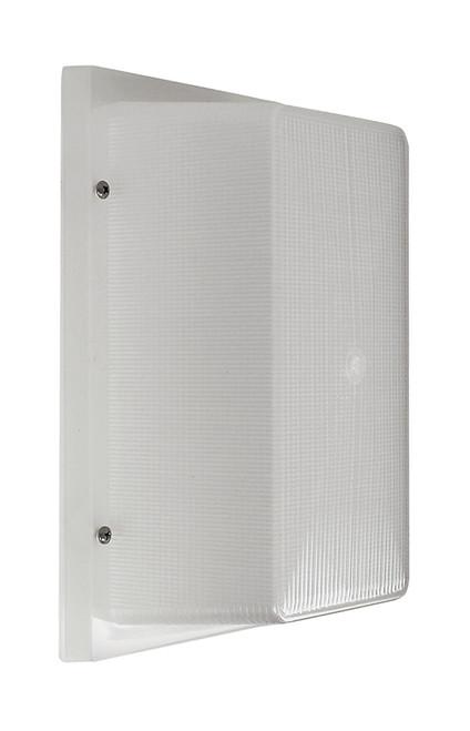 LED Garage Wall light, 13 watt, 1000 lumens, 120 volt, Frosted Prismatic Acrylic lens, UL