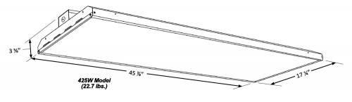 Slim Linear LED High Bay 425 LINE ART