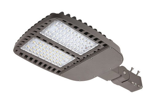 LED Shoe Box Light with adjustable slip fitter