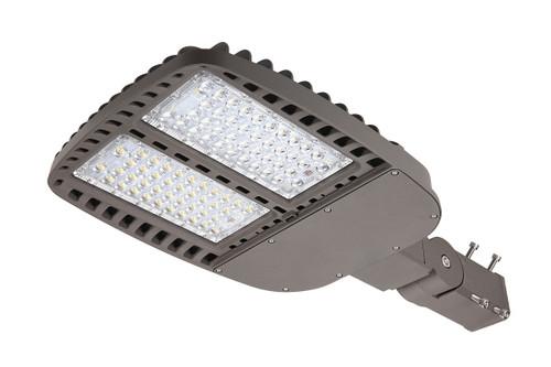 LED Shoe Box Light with adjustable slip fitter