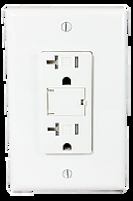 20 AMP USB Tamper Resistant Decora Receptacle