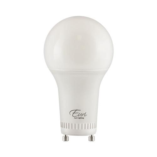 A19, Omni-Directional, LED Light Bulb, Dimmable, 8W, 120V, 800 lm, 2700K, Value-Pack (Qty. 2), GU24 Base (EA19-8W2020eG-2)