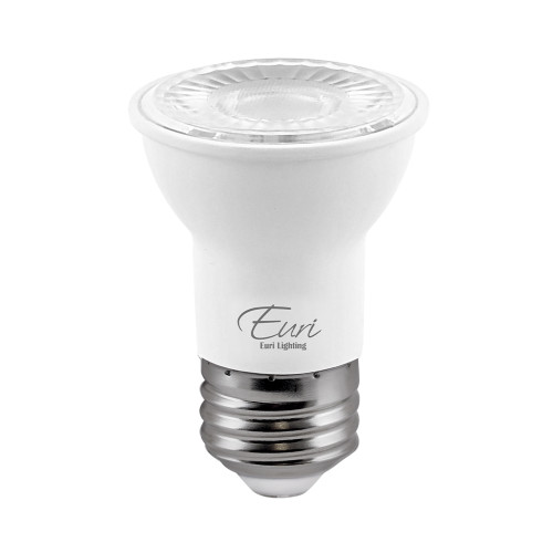 PAR16, Directional (Wide Spot), LED Light Bulb, Dimmable, 7 W, 120 V, 500 lm, 4000 K, E26 Base (EP16-7W4040ew)