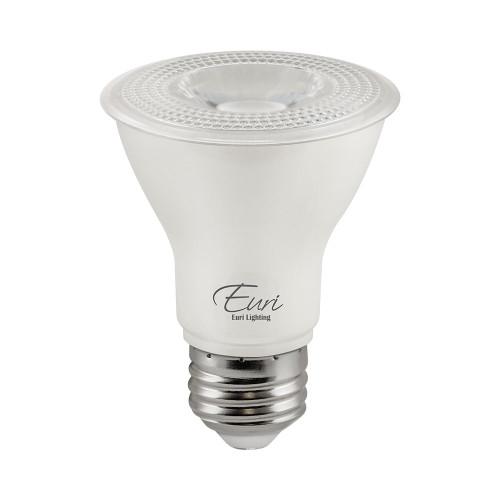 PAR20, Directional (Wide Spot), LED Light Bulb, Dimmable, 7 W, 120 V, 500 lm, 4000 K, Halogen Look, Value-Pack (Qty. 2), E26 Base (EP20-7W6040e-2)