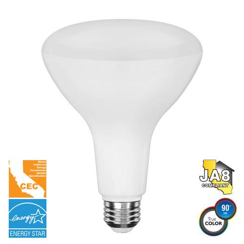 BR40, Directional (Flood), LED Light Bulb, Dimmable, 11 W, 120 V, 1000 lm, 3000 K, E26 Base (EB40-5000cec)