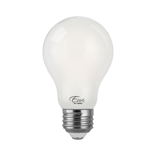 A19, Omni-Directional, LED Light Bulb, Dimmable, 8 W, 120 V, 800 lm, 2700 K, E26 Base (VA19-3020ef)