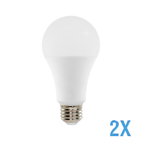 A21, Omni-Directional, LED Light Bulb, Dimmable, 14 W, 120 V, 1521 lm, 3000 K, E26 Base (EA21-21001-2)