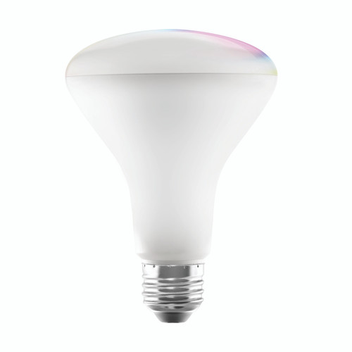 LIS Smart LED Light Bulb, Dimmable, Multicolor 10 W, 120 V, 650 lm, 2000K-5000K, E26 Base (LIS-B1003)