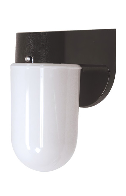 Black fixture with Opal Lens