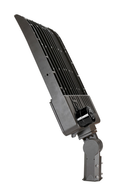 LED Shoe Box heat sink with photocell