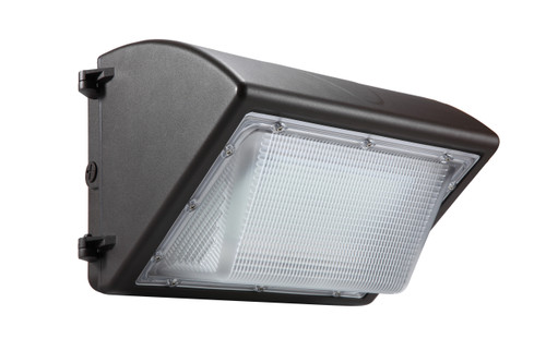 Architectural Curved LED Wall Pack, 40 Watt, 100-277 volt, 5400 lumen, 5000 Kelvin, Polycarbonate lens, UL and DLC Listed (AL-WPAC40W-5K)
