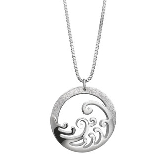Ocean Silver Pendant