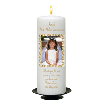 First Holy Communion Candle for Girl