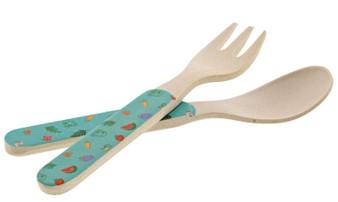 Peppa Pig Bamboo Fork Set