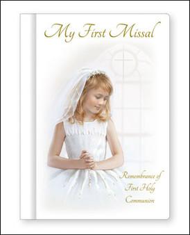 Communion hard book Missal.