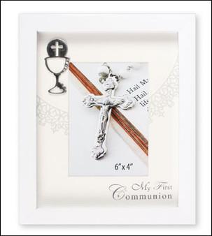 Communion White Photo Frame