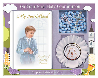 Communion gift set with Rosette