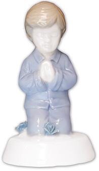 """4"""" Blue Ceramic Statue"""