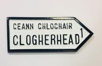 Clogherhead Roadsign