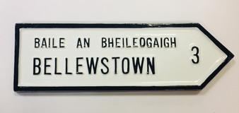 Bellewstown Roadsign