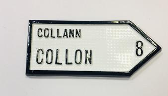 Collon Roadsign