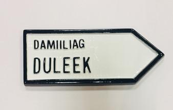 Duleek Roadsign