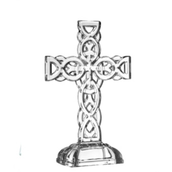 Galway Crystal Standing Cross