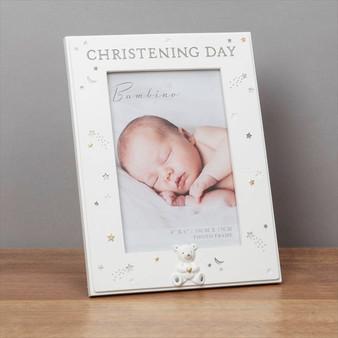 Bambino Resin Resin Christening Day Frame