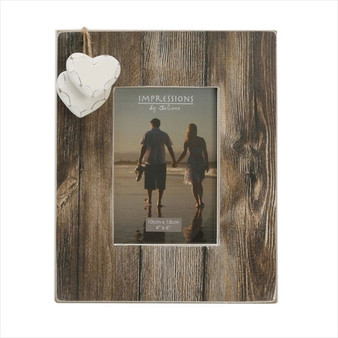 "Distressed Natural Wood 6/4"" Frame"