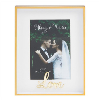 Always and Forever Love Photo Frame