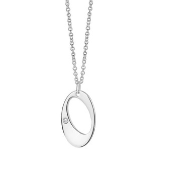 Dew Drop Pendant Clear stone
