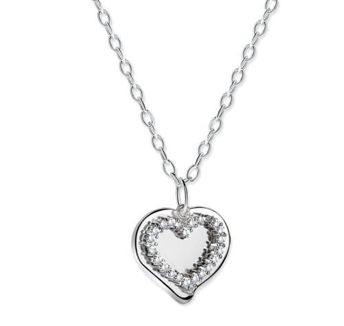Mementos Pendant with Heart
