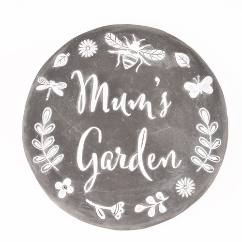 Mum's Garden Stepping Stone