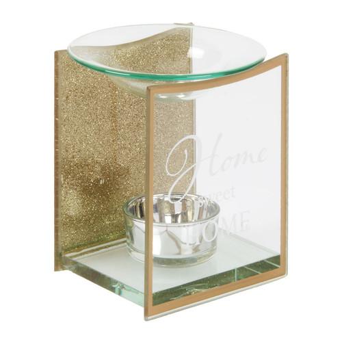HESTIA������ Gold Glass Oil Burner - Home Sweet Home