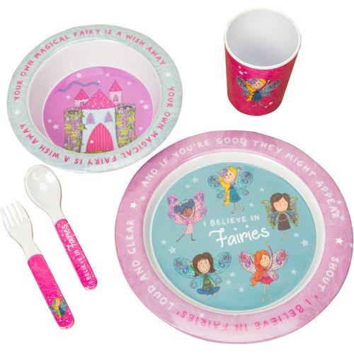 My Magical Fairy Melamine Dinner Set