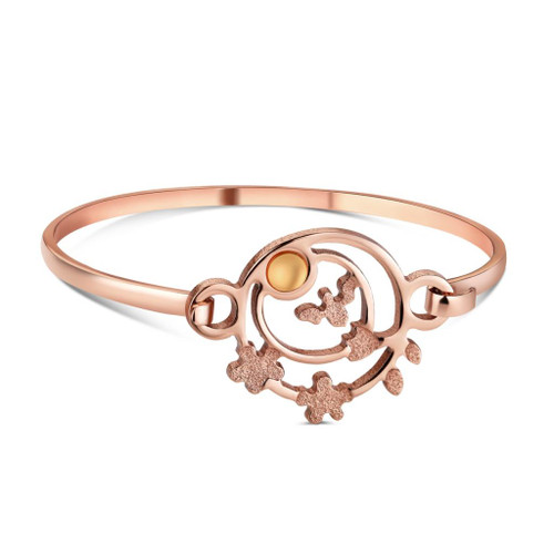 Ariel Rose Gold Bangle
