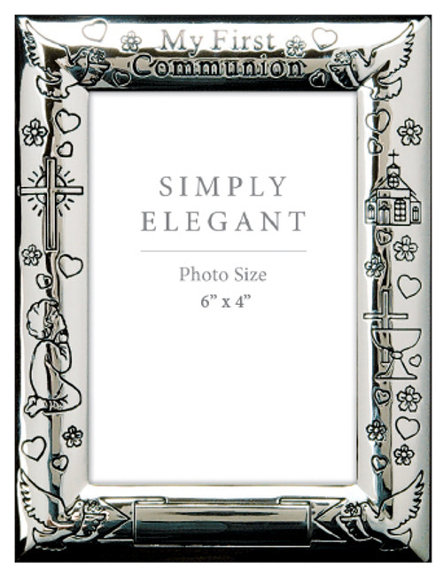 Communion Silver Photo Frame