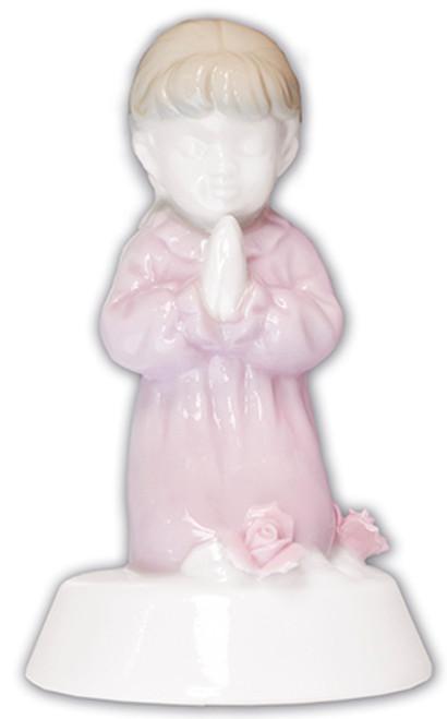 """4"""" Pink Ceramic Statue"""