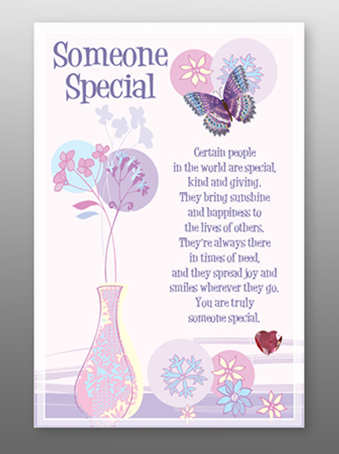 Glass Plaque Someone Special