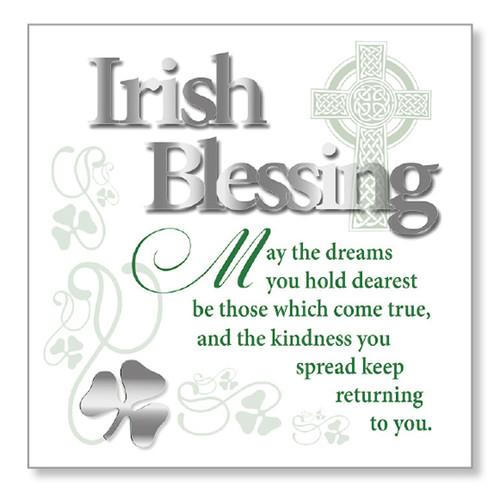 Irish Blessing Block Art