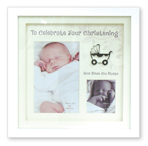 To Celebrate your Christening Photo Frame