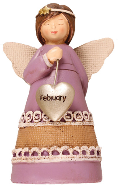February Birthday Angel