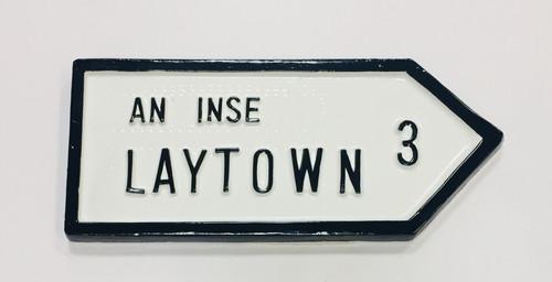 Laytown Roadsign
