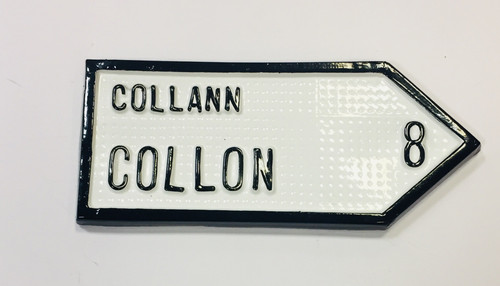 Collon Roadsign