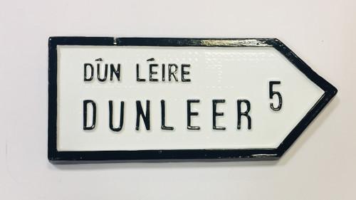 Dunleer Roadsign