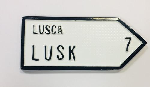 Lusk Roadsign