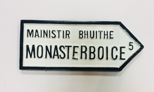 Monasterboice Roadsign